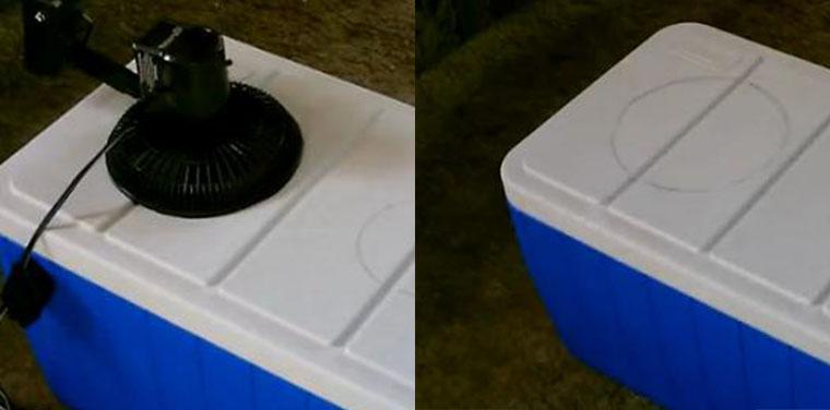 Cách nhanh nhất để làm máy lạnh tự chế tại nhà vào mùa nóng